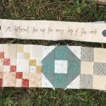 Técnicas de patchwork varias en Gossip in the Garden