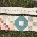 Técnicas de patchwork varias en Gossip in the Garden