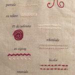 Aprender a bordar tutorial con cuaderno de bordado