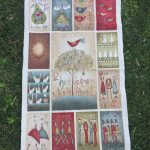 Quilt de patchwork Navidad 12 days of Christmas Anni Downs