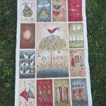 Quilt de patchwork Navidad 12 days of Christmas Anni Downs