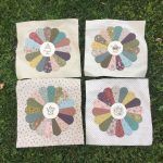 Quilt Gossip in the Garden en patchwork