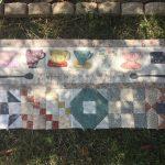Bloque de patchwork acabado