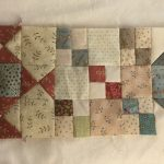Gossip in the garden quilt de Anni Downs