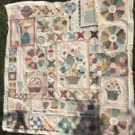 Quilt Gossip in the Garden casi casi
