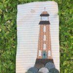 Bloque El Faro en patchwork aplicación