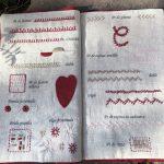 Mi cuaderno de bordado acabado