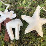 Tutorial gratis adornos de Navidad reno y estrella