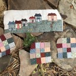 Quilt Mystery Seaside Town bloque 7