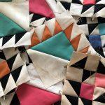 Febrero en quilt, bordado y costura