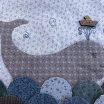 Bloque 9 acabado quilt Seaside Town de Lynette