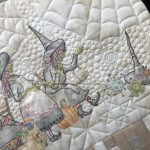 Quilt The Mystery of Salem Witches  acabado