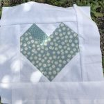 Mi bloque para el quilt solidario Love in a Mug