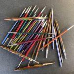 Cómo tejer dos hebras a la vez del mismo ovillo