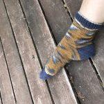 Tutorial cómo tejer calcetines con 5 agujas Kinda Magic