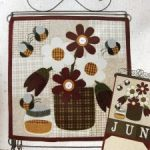 Patchwork, tejer, costura y labores en Junio