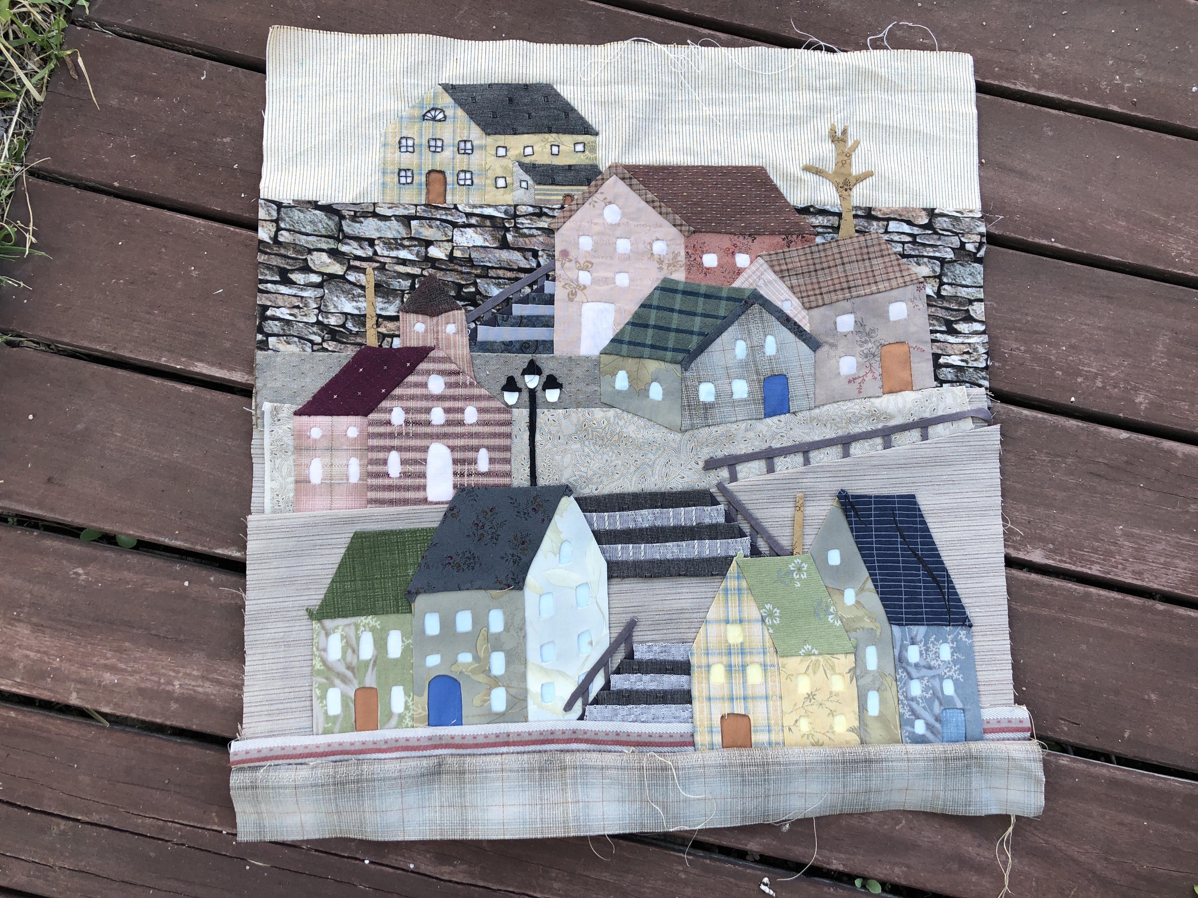 Bloque 5 del quilt Mystery de Yoko Saito - LA VIDA EN PATCHWORKLA ...
