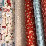 Telas de patchwork para cocina en Navidad