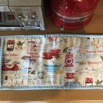 Guante de cocina doble en patchwork