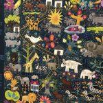 Enero entre patchwork y bordados