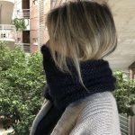Mi nuevo cuello de lana Rowan patrón gratis