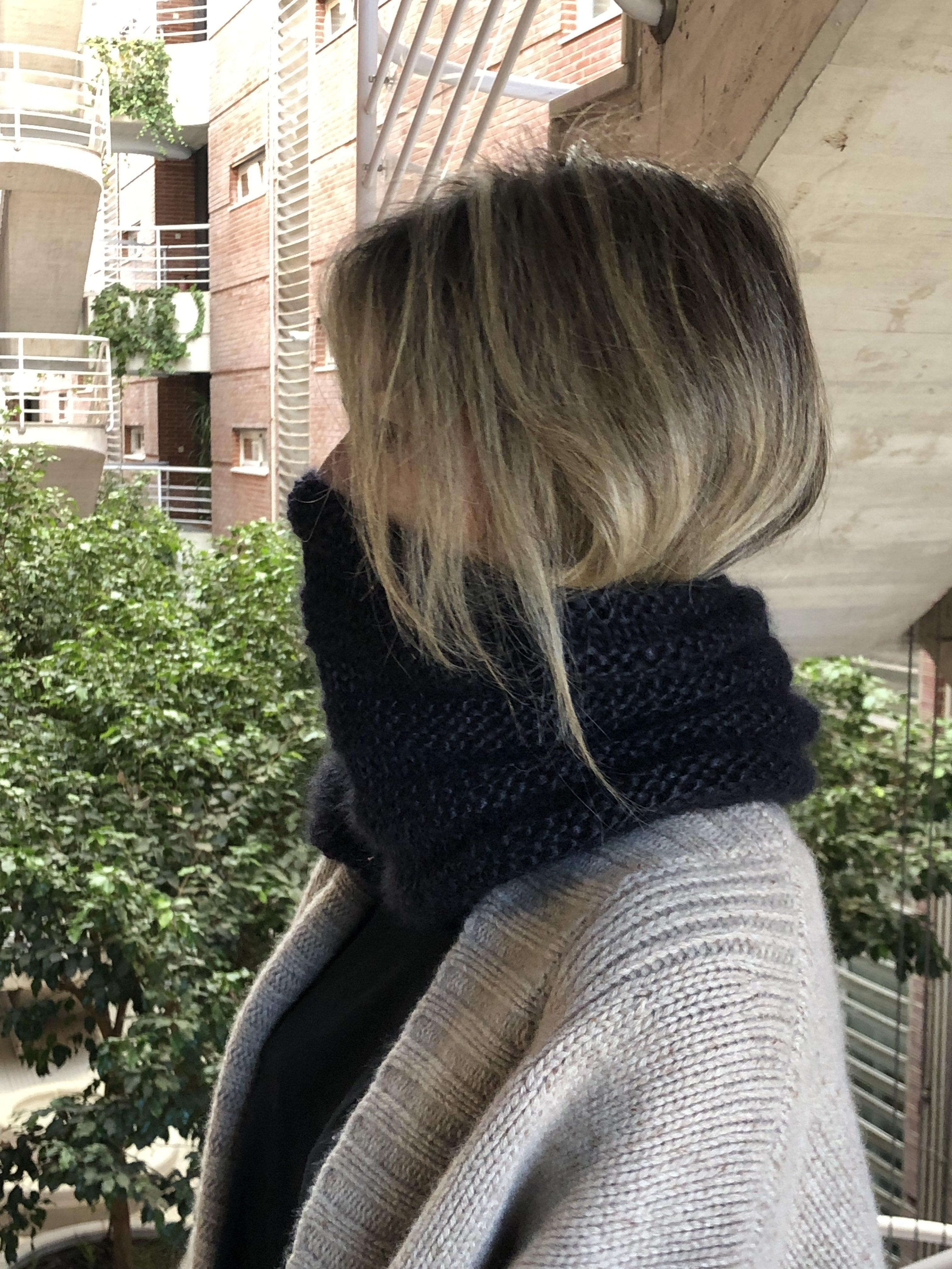 Cuello tejido con lana Sultano de Rowan
