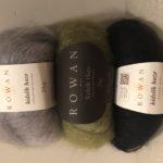 Tejer cuello con lana Rowan
