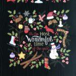 Camino de mesa Navidad