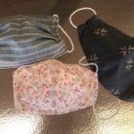 Mascarilla de tela con bolsillo para filtro